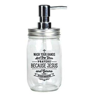 903c0282c593 Mason Jar Soap Dispenser | Wayfair