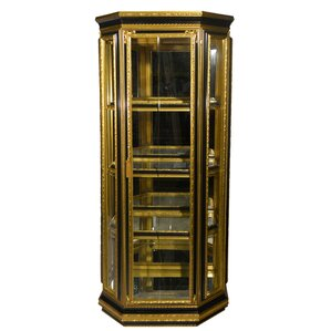 Lighted Curio Cabinet by Three Star Im/Ex..