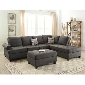 Reversible Sectional  sc 1 st  Wayfair.com : chaise lounge loveseat - Sectionals, Sofas & Couches