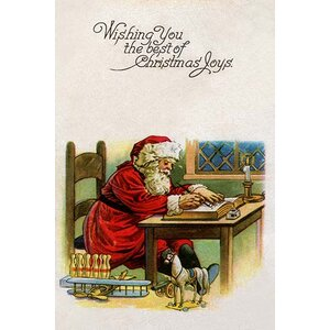 'Wishing You the Best of Christmas Joys' Graphic Art