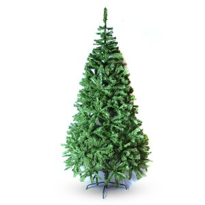 5' Green PVC Classic Evergreen Artificial Christmas Tree