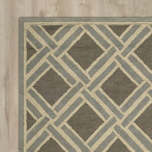 Atlantic Hand-Woven Gray Area Rug