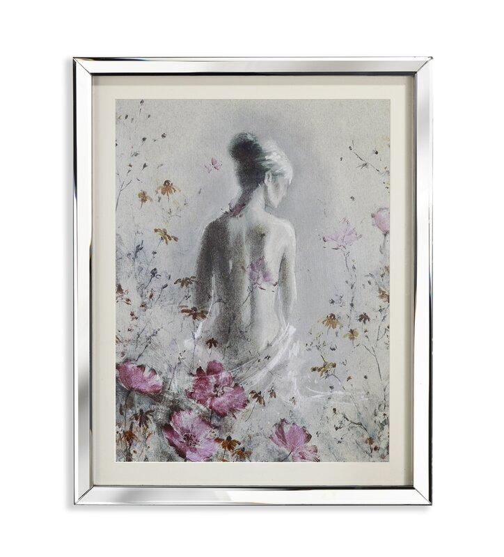 Arthouse isabelle mirror framed art print reviews for Cheap framed art prints