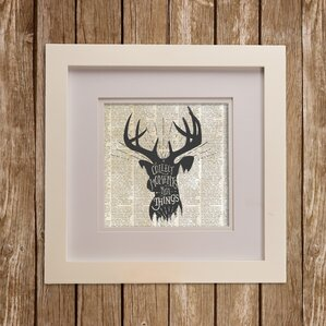 North Country Buck Wall Décor