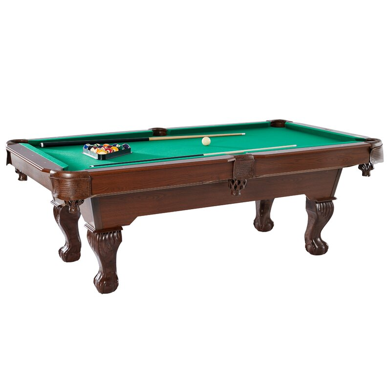 Pool tables youll love wayfair barrington springdale 7 6 pool table greentooth Image collections