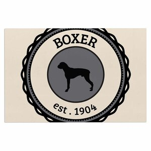 'Boxer' Dogs Decorative Doormat