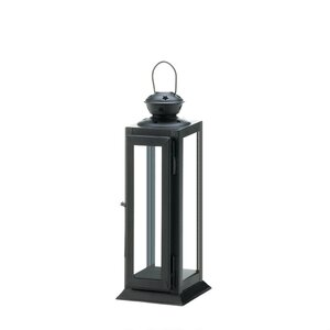 Star Cutout Iron Lantern