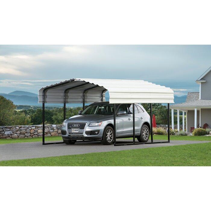 Steel Carport 10 Ft  x 15 Ft  Canopy