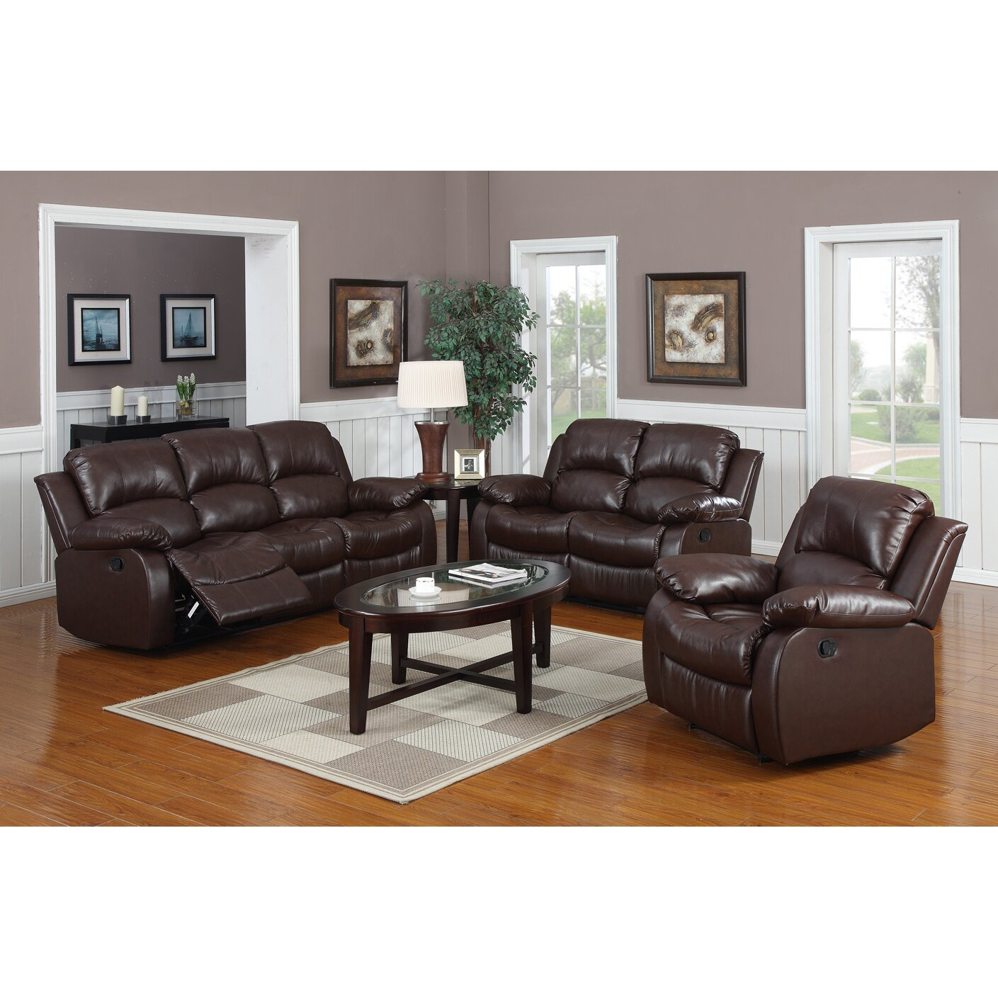 Bryce 3 Piece Reclining Living Room Set - Latitude Run Bryce 3 Piece Reclining Living Room Set & Reviews