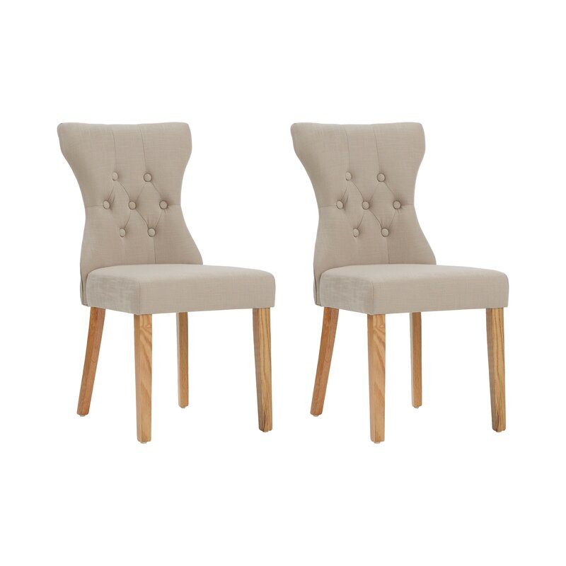 Fairmont Park Wimbledon Upholstered Dining Chair Set Reviews - Upholstered dining chairs uk