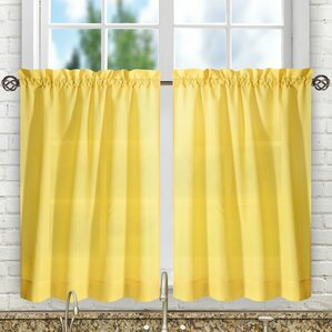 guida tailored tier curtain