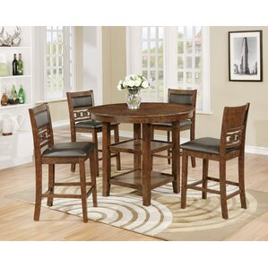 Cally Counter Height Dining Table by Crown Mark