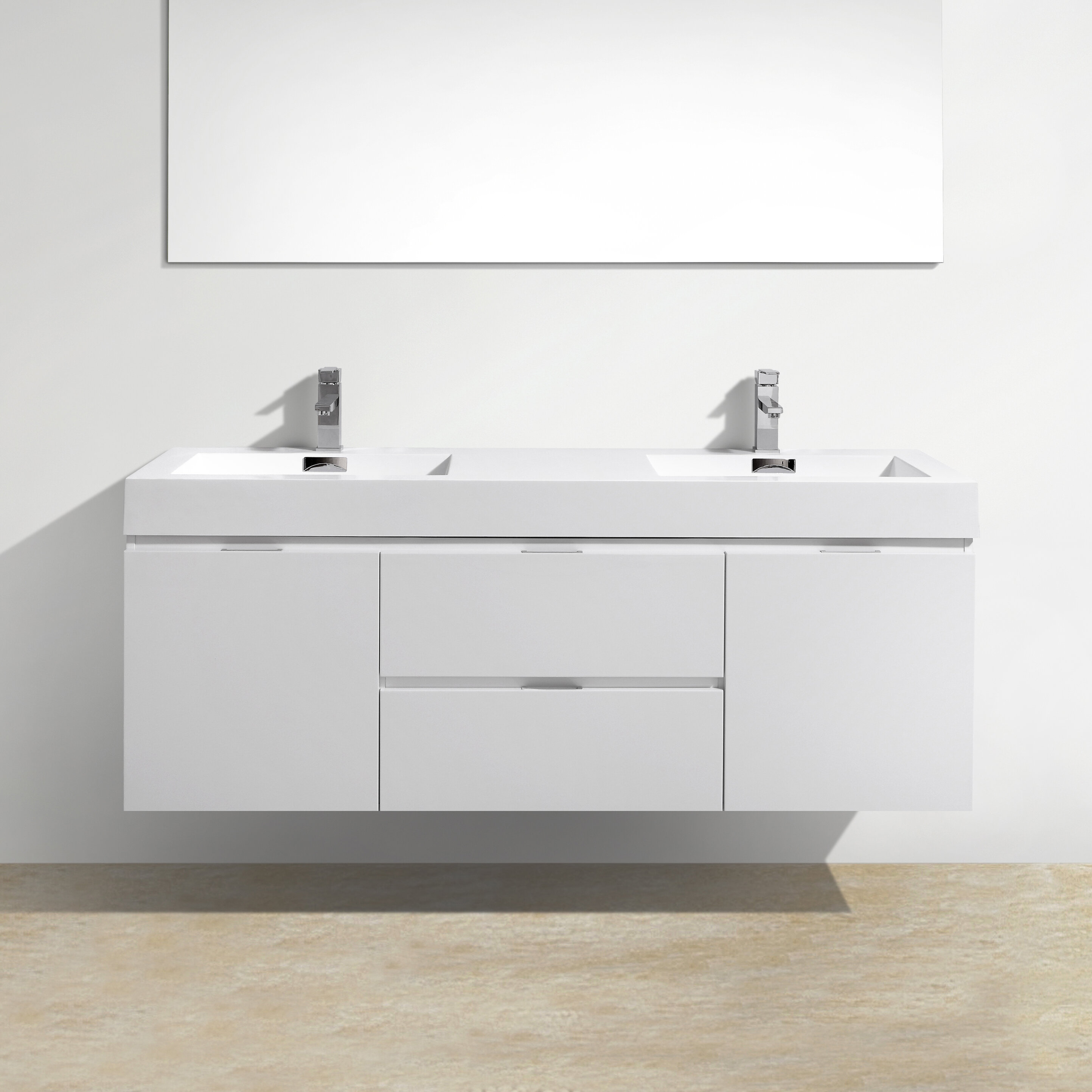 Floating Bathroom Vanity hen how to Home Decorating Ideas