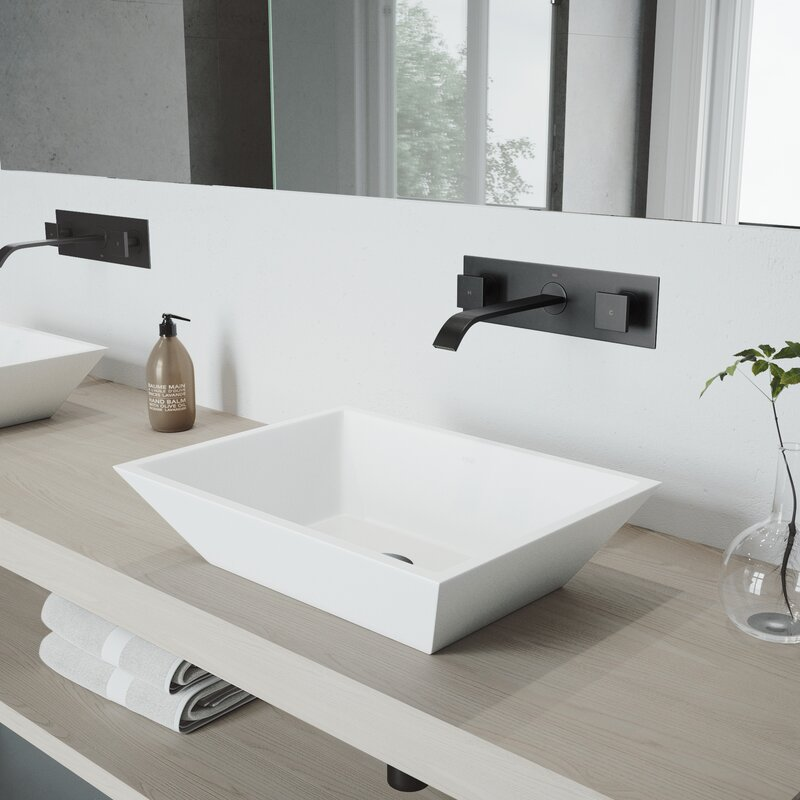 vigo titus wall mounted bathroom faucet reviews wayfair rh wayfair com wall mounted bathroom faucets clearance wall mounted bathroom faucets oil rubbed bronze