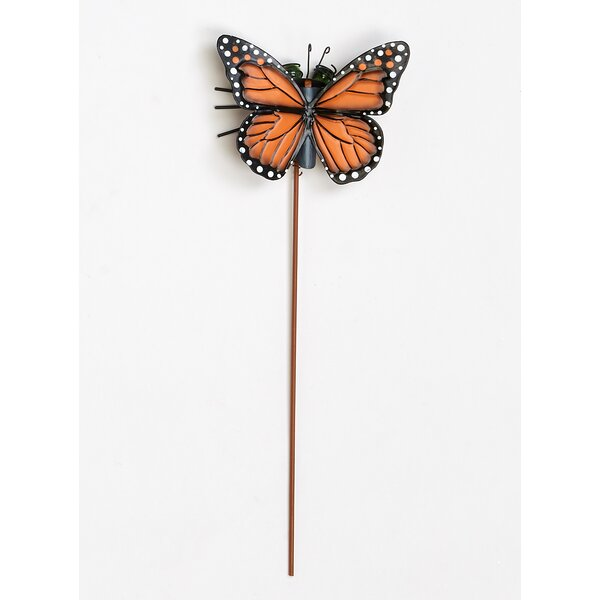 Worth Imports Metal Butterfly Garden Stake | Wayfair