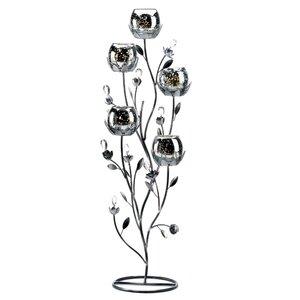 Blooms Metal Candelabra