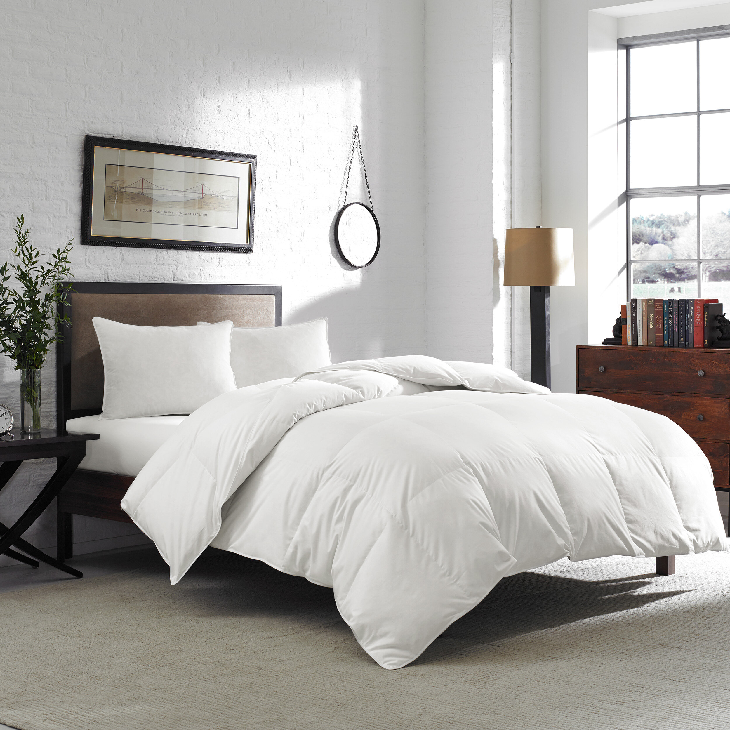 comforter down duck whyte cheap products comforters