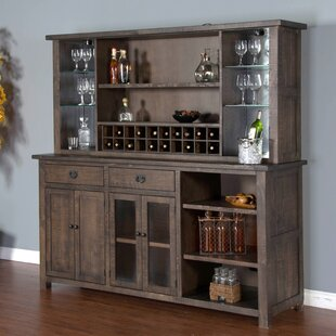 Tearra Lighted China Cabinet