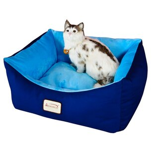 Cat Bed in Navy & Sky Blue by Armarkat