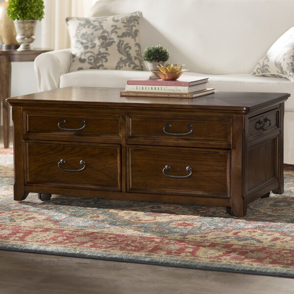 Mathis Coffee Table Trunk | Wayfair