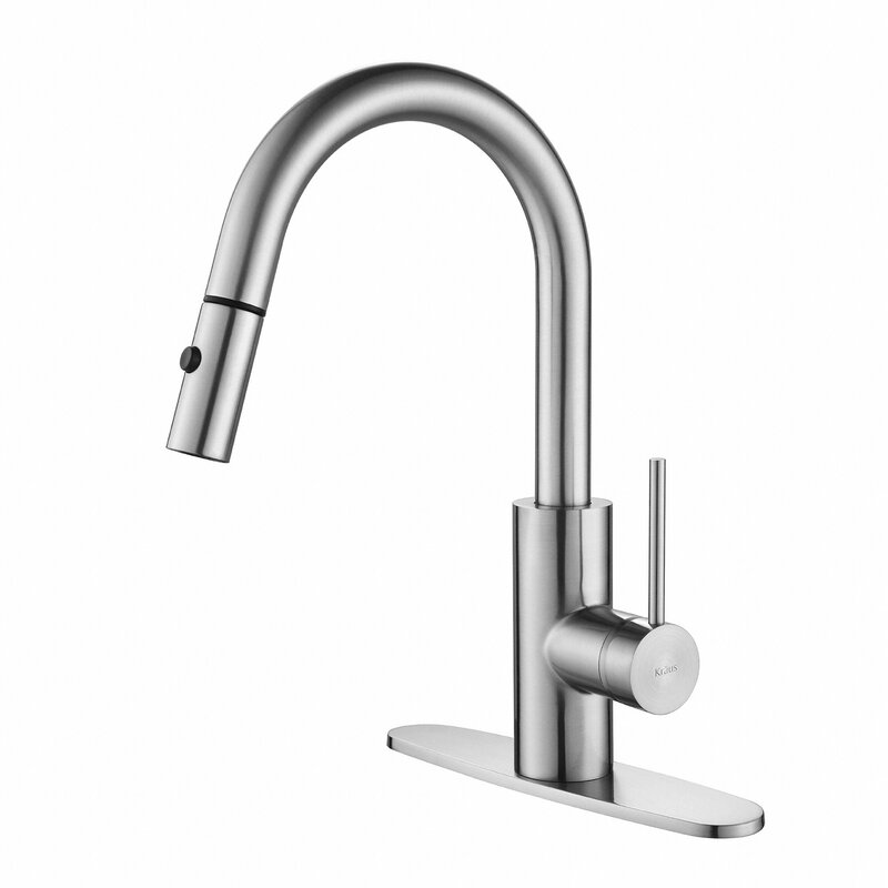 Etonnant Oletto Pull Down Single Handle Kitchen Faucet