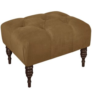 Bloomfield Tufted Ottoman by Alcott Hill
