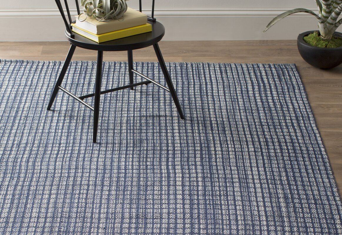 Dash and albert rugs coco hand woven blue indoor outdoor for Dash and albert wool rugs