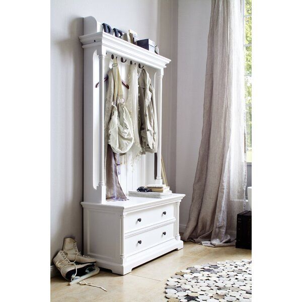 darby home co westmont entryway hall tree reviews wayfair. Black Bedroom Furniture Sets. Home Design Ideas