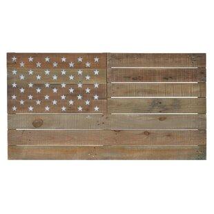 Wooden American Flag Wall Décor