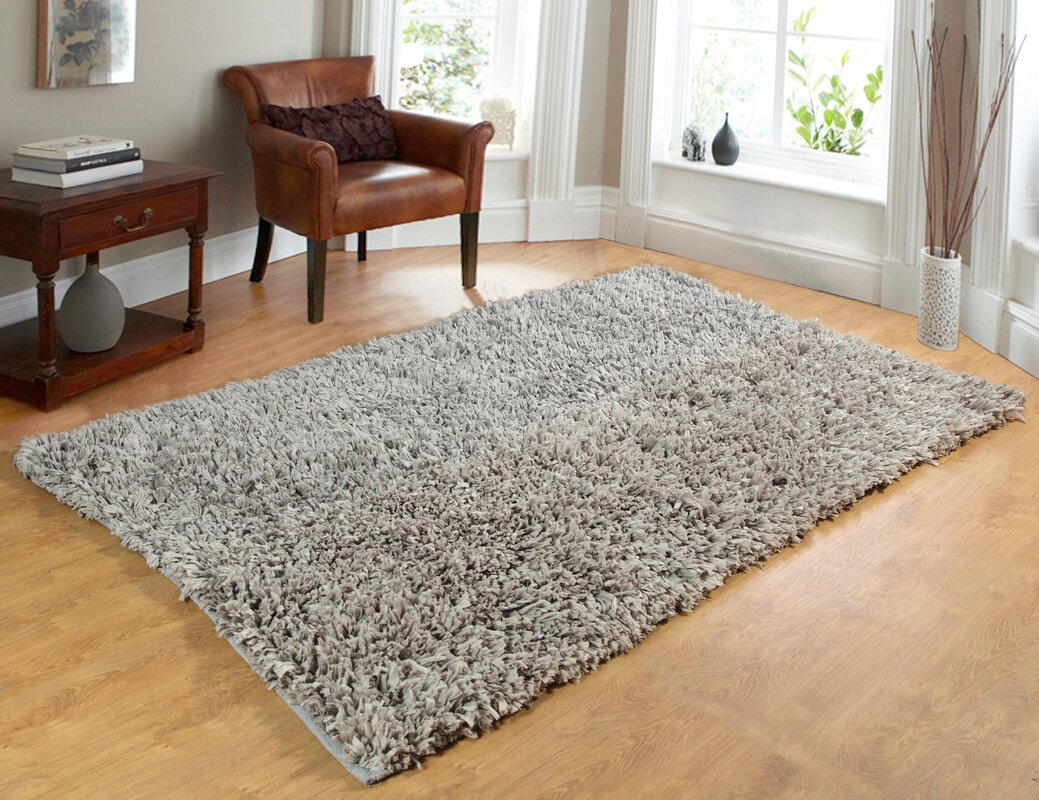 Comfy Hand Woven Silver Area Rug