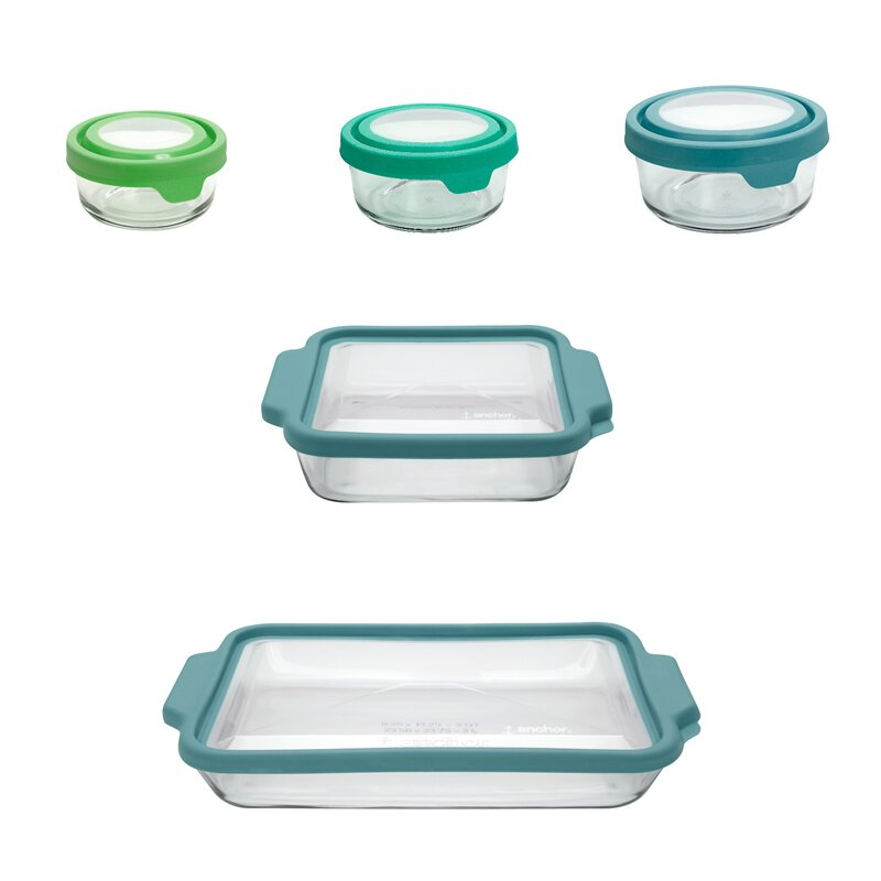38e3087a680f TrueFit and TrueSeal 10 Container Food Storage Container with Lid