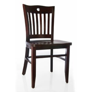 Poker Solid Wood Dining Chair (Set of 2) by Benkel Seating