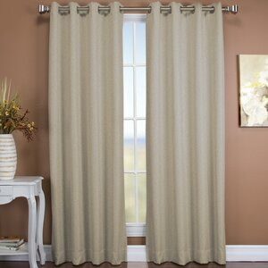 Tacoma Solid Blackout Thermal Grommet Single Curtain Panel
