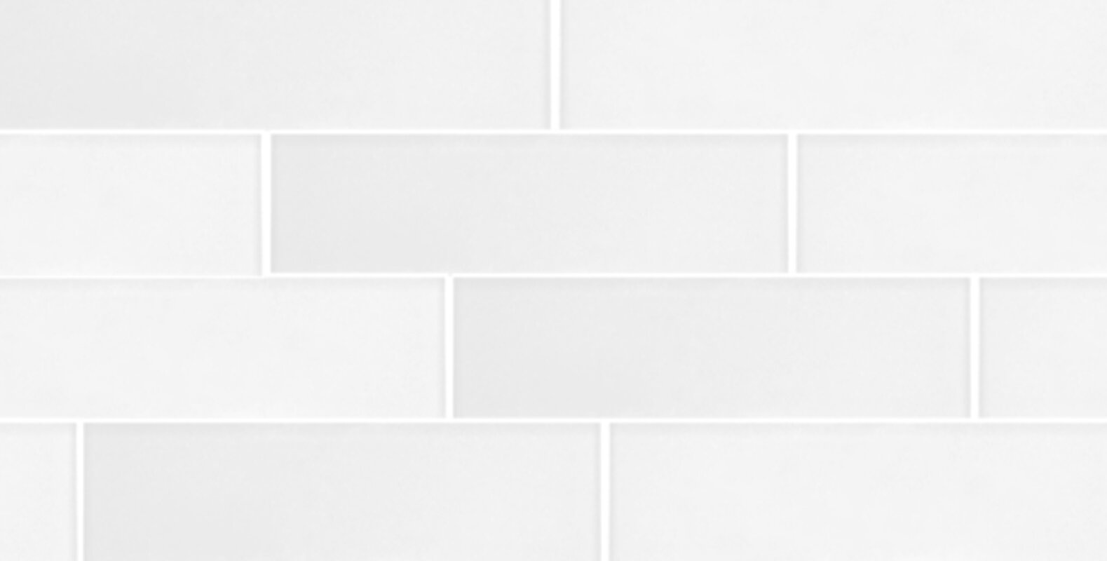 Secret Dimensions 3 X 12 Gl Subway Tile In Frosted White