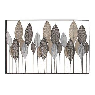 Exceptionnel Metal Leaf Wall Décor