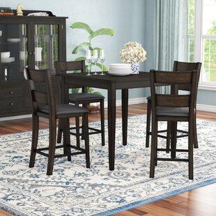 Belknap 5 Piece Counter Height Dining Set