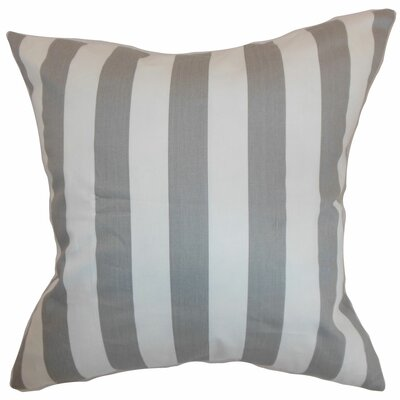 Birch Lane™ Heritage Knotts Indoor/Outdoor 100% Cotton Throw Pillow Color: Storm Twill, Size: 20 H x 20 W