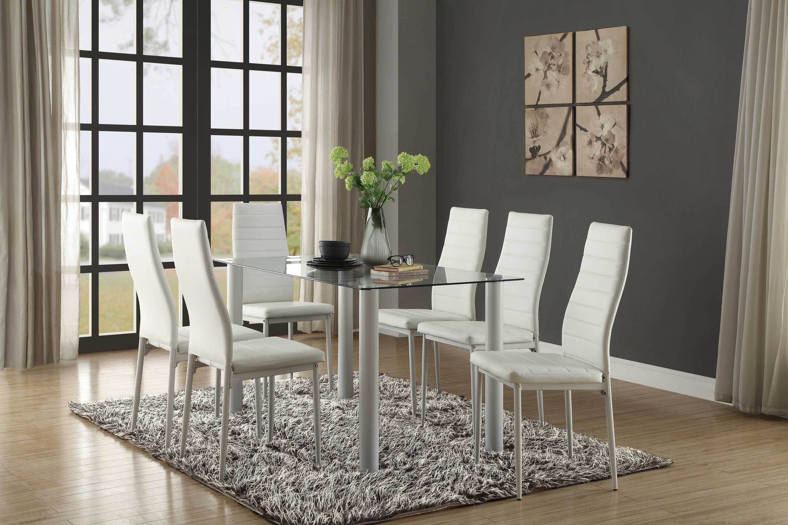 Modern Dining Chairs Allmodern - Design-dining-room
