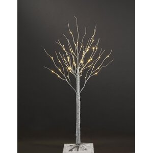 Artificial Birch Christmas Tree with 36 LED