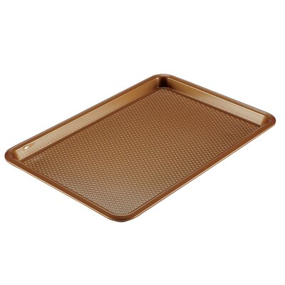 Ayesha Curry Non-Stick Bakeware Cookie Pan Ayesha Curry Color: Copper