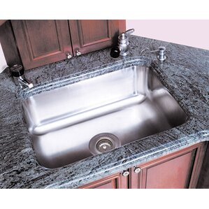 A-Line by Advance Tabco Single Bowl Undermount Kitchen Sink