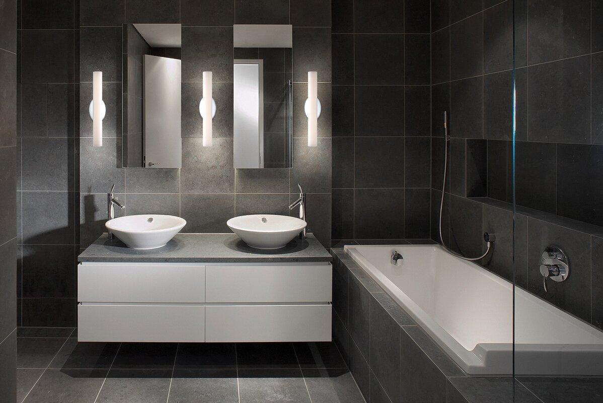 Loft 2-Light LED Bath Bar & Reviews