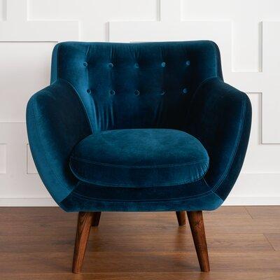 Modern Blue Lounge Accent Chairs Allmodern
