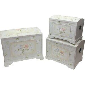 3-tlg. Aufbewahrungsboxen-Set von House Additions