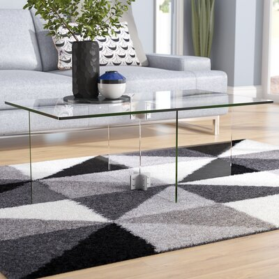 Glass Amp Metal Coffee Tables You Ll Love In 2019 Wayfair