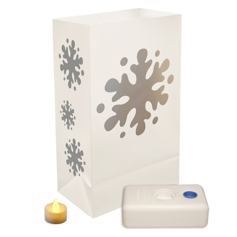 Snowflake Luminary