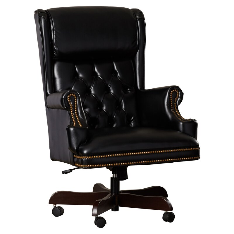 Attractive Brassie Leather Executive Chair