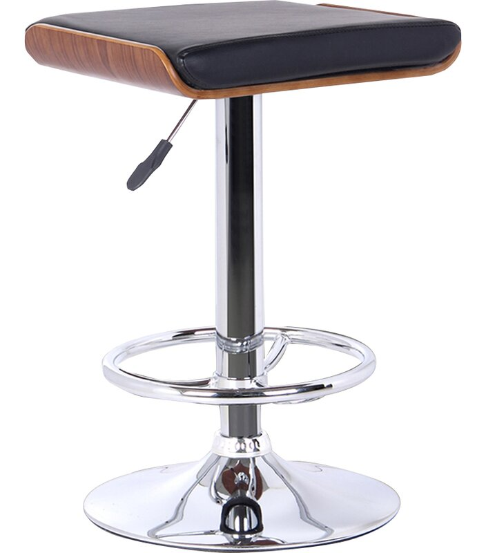 Canchola Adjustable Height Swivel Bar Stool Amp Reviews