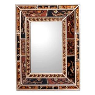 reverse painted mirror wayfair