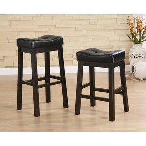 Ocalsa 29  Bar Stools (Set ...  sc 1 st  Wayfair & Saddle Seat Bar Stools Youu0027ll Love | Wayfair islam-shia.org